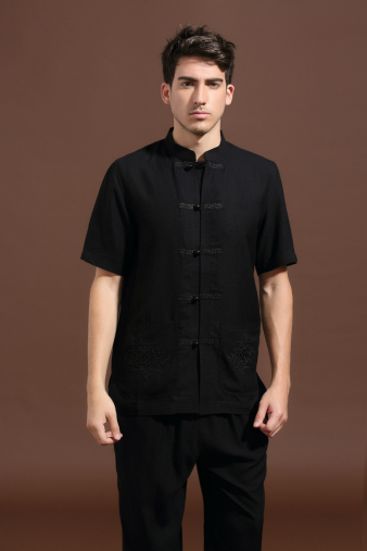 Men's Black Tang Shirt