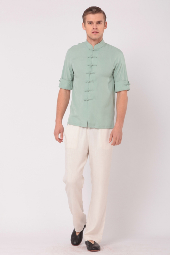 Men's Green Tang Shirt