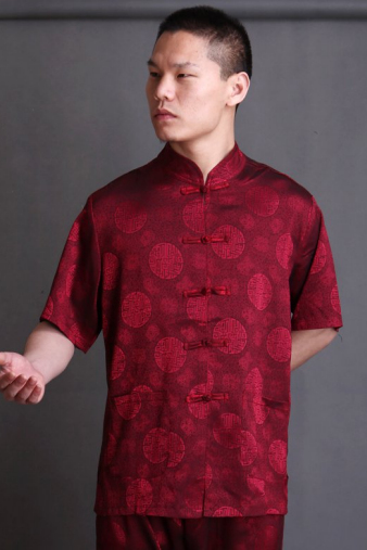 Red Kung Fu Shirt