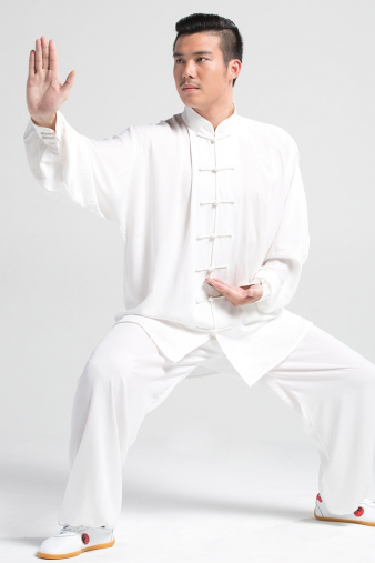 White Kung Fu Suit